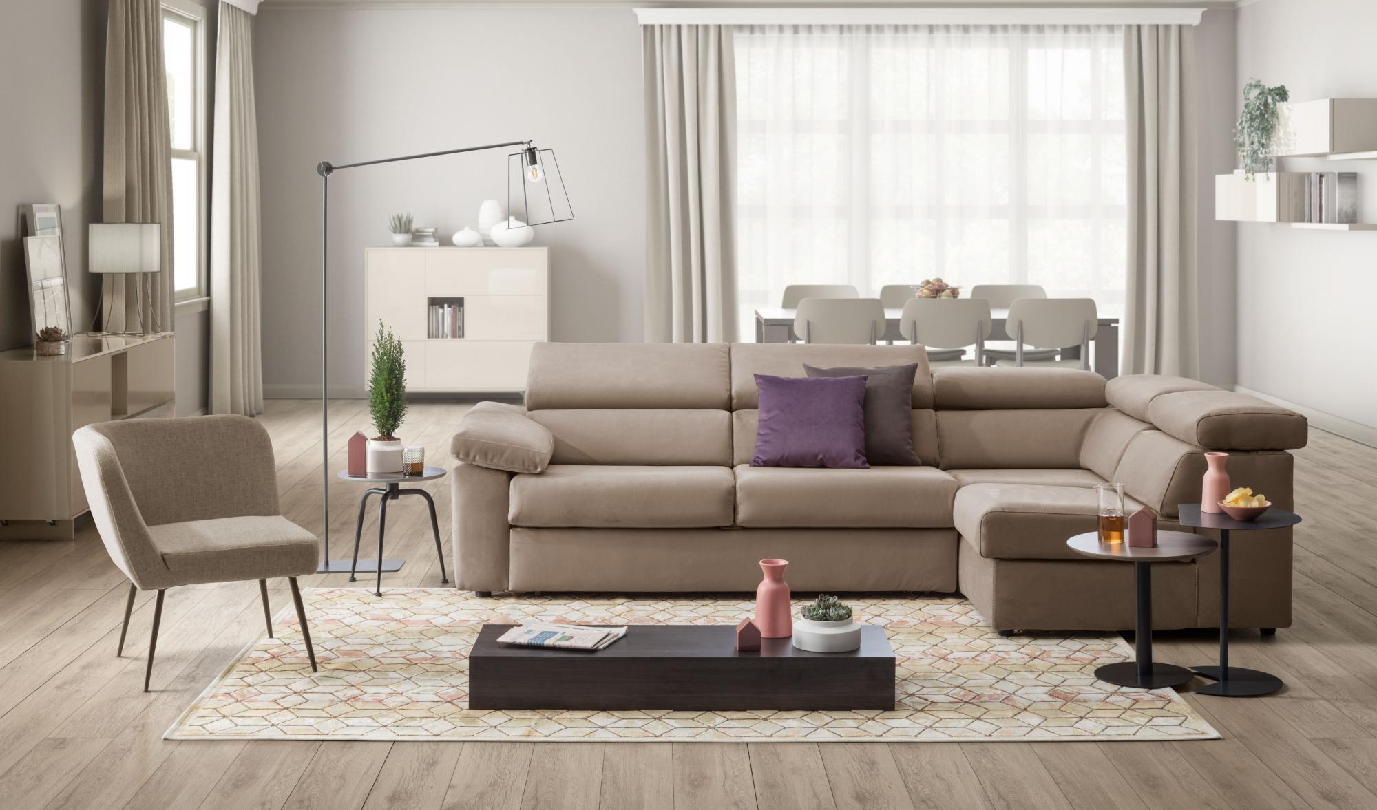 Fusion D3 - Living room - Sofa - Colombini Casa