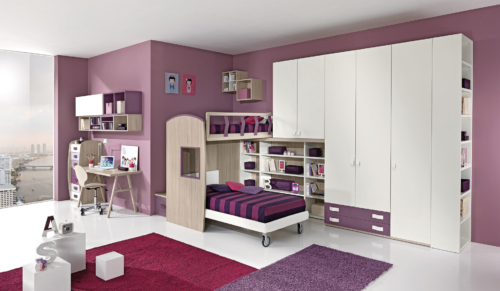 wood furniture - children's bedrooms - kids bedrooms - baby bedrooms - bunk beds - giessegi