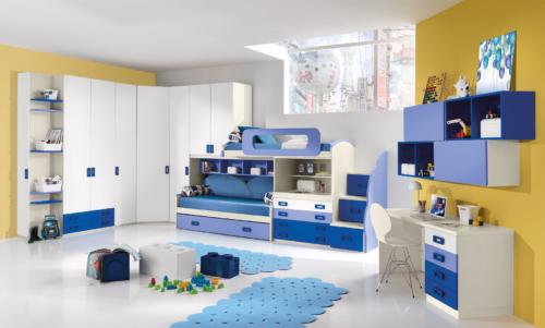 Giessegi - baby beds- baby rooms - children's rooms - wardrobe