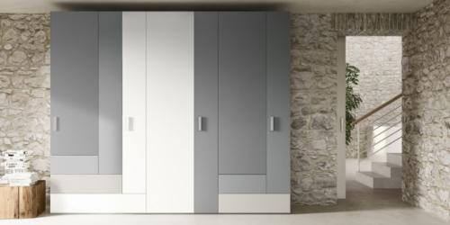 Armadio - guardaroba - armadio a muro - armadio design - armadio vicenza - arredamento camenra - ante battenti - armadio moderno - armadi camera matrimoniale - marka - total living