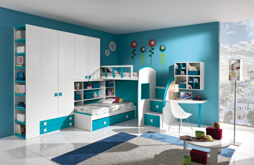 CHILDREN'S BEDROOMS - KIDS BED