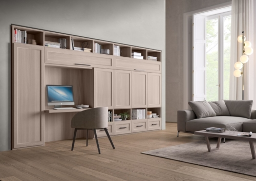 Living - modern furniture - bookcase - shelving systems  - Modern Library Furniture -  sideboards - shelves - TV panels - accessories
