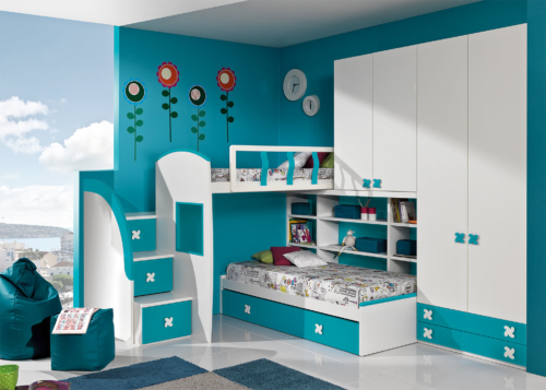 bunk beds - children's bedroom - children's rooms - classic furniture