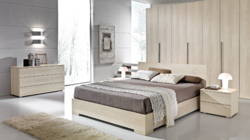 double room - night furniture - dressers - nightstands