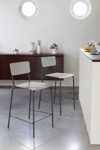 Sgabello - sedia - Ingenia casa - Bontempi - College sgabello