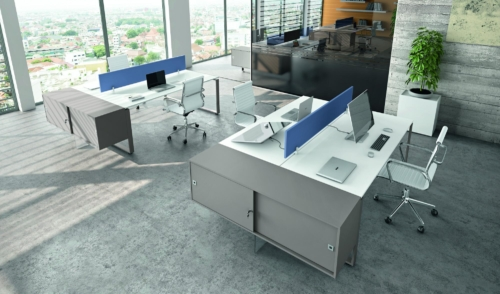 office furniture - executive offices - operative offices - reception - meeting