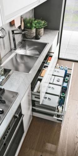 Colombini Cucina moderna Isla particolare 9