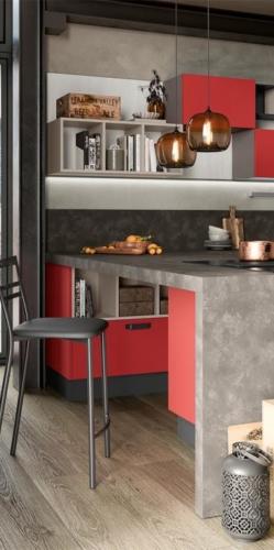 Colombini cucina moderna mod. Quadra particolare 2