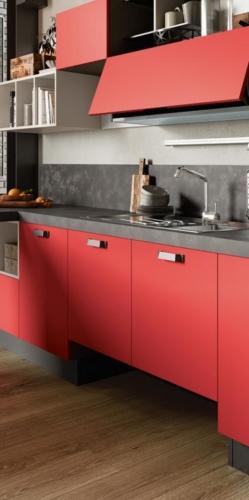 Colombini cucina moderna mod. Quadra particolare 4