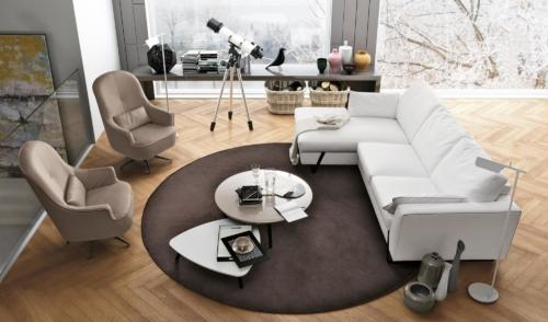 Divani - Poltrone - Colombini - Casa - Sofup - salotto - living -Alfred 2