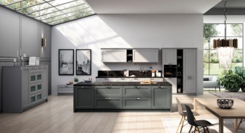 Gentili cucine - anta village - contemporary style