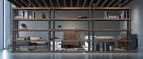 Arredamento - living - zona giorno - stretture in ferro e legno - Granzotto - Iron wood day
