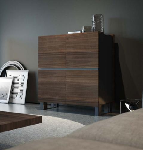 Arredamento - living - zona giorno - stretture in ferro e legno - Granzotto - Iron wood day - essential 9