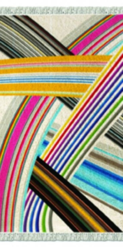 Magic rainbow tappeto