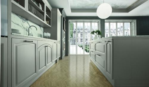 Cucine - Cucine shabby - Colombini casa - Mida- bianco