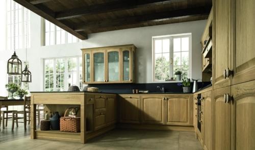 Cucine - Cucine classiche - cucine country - cucina stile shabby - Colombini casa - mida - legno
