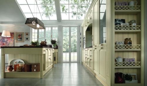 Cucine - cucina stile shabby - Colombini casa - Mida - avorio