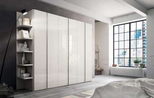 Bedrooms suites - Wardrobes - vicenza - Interiors and Technical Area - Bedside Elements - chests of drawers - dressing tables