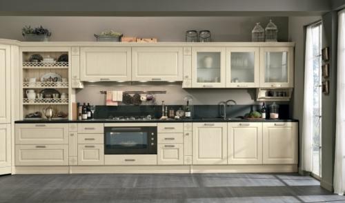 Cucine - Cucine classiche - cucine country - cucina stile shabby - Colombini casa - Opera - avorio
