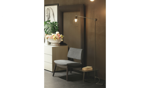 lampada - piantana - abat jour - accessori - complementi - Colombini - casa - Rasha
