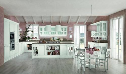 Cucine - Cucine classiche - cucina stile shabby - Colombini casa - Sinfonia - bianca