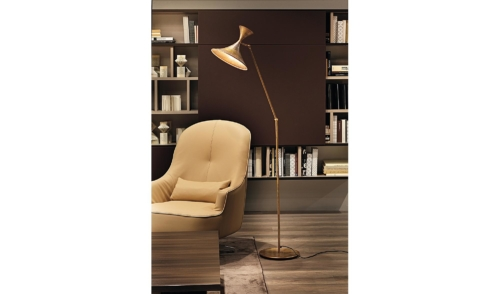lampada - piantana - abat jour - accessori - complementi - Colombini - casa - Vintage lamp