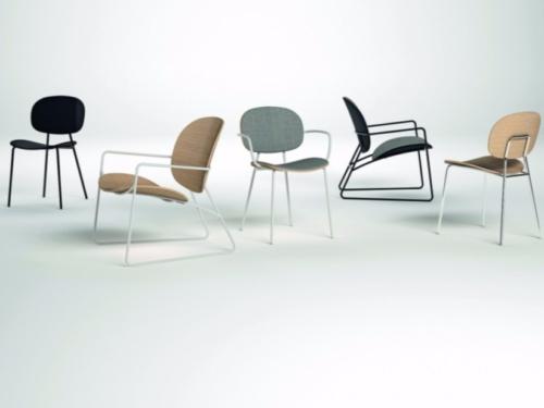 Sedie - Seduta - OMP Group - Infiniti design - Tondina