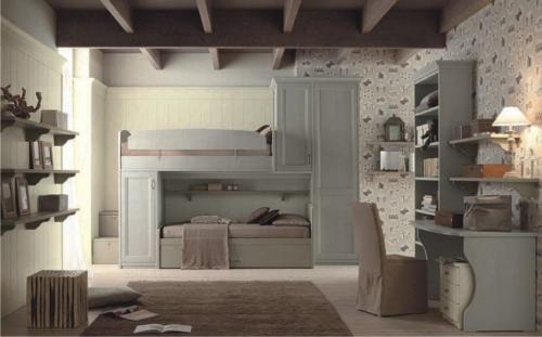 wood furniture - children's bedrooms - kids bedrooms - baby bedrooms - bunk beds