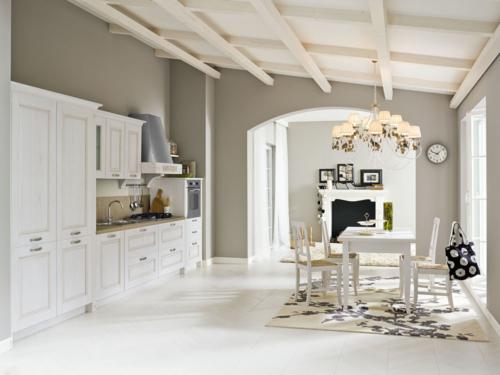 Cucine - Cucine classiche - cucine country - cucina stile shabby - provenzale - Gentili Cucine - Olivia - decape sasso