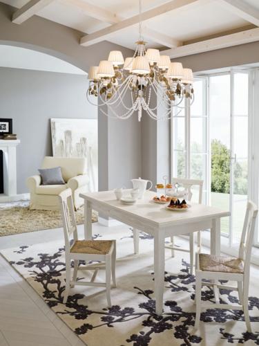 Cucine - Cucine classiche - cucine country - cucina stile shabby - provenzale - Gentili Cucine - Olivia - decape bianco