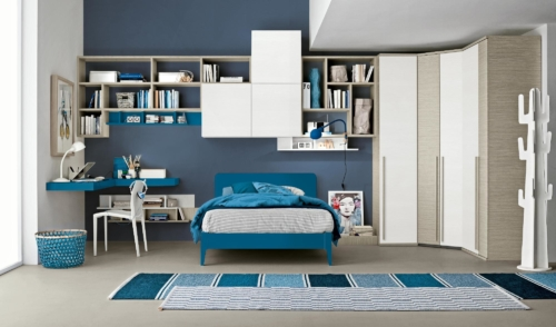 children's bedrooms - kids bed - italian furniture - modern furniture - interior design
