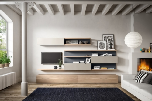 interior furniture - living design - livingroom - wall units