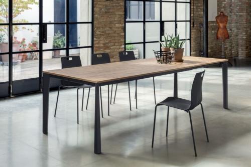 Tavoli - Bontempi -Ingenia - Casa - tavoli fissi -vetro - laminato - allungabili - Prisma