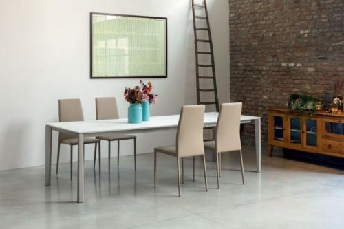 Tavoli - Bontempi -Ingenia - Casa - tavoli fissi - allungabili - vetro - laminato - Prisma
