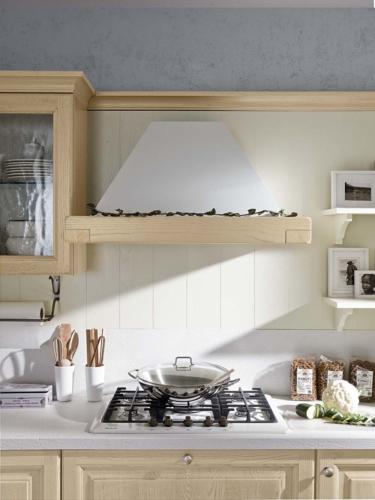 Cucine - cucine country - cucina stile shabby - provenzale - Gentili Cucine - Romantica - decape caffelatte