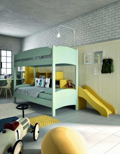 wood furniture - children's bedrooms - kids bedrooms - baby bedrooms - bunk beds - Scandola