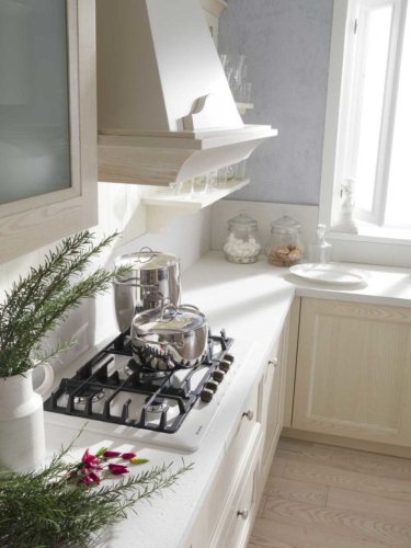 Cucine - Cucine classiche - cucine country - cucina stile shabby - provenzale - Gentili Cucine - Village - decape sabbia
